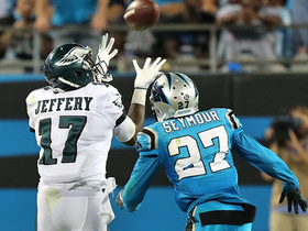 Carson Wentz heaves a BOMB to wide receiver Alshon Jeffery for 37 yards