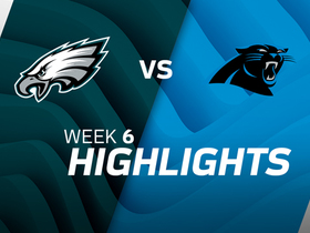 Eagles vs. Panthers highlights | Week 6