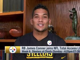James Conner talks about what it means to participate in Crucial Catch campaign