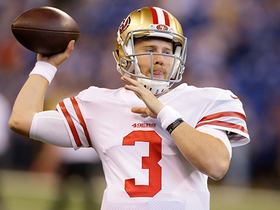 C.J. Beathard replaces Hoyer, completes first career pass
