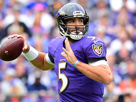Joe Flacco ties it up with a two-point conversion