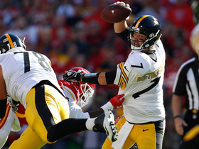 Dee Ford uses sweet spin move to sack Ben Roethlisberger