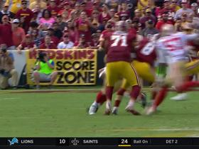 Rookie Solomon Thomas sacks Kirk Cousins