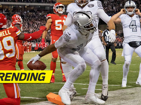 Four goal-line plays in final seven seconds punctuate wild Raiders-Chiefs finish