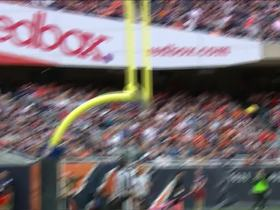 Kawann Short blocks Connor Barth's 52-yard field goal attempt