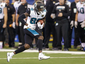 Allen Hurns breaks through arm tackles on monster pickup