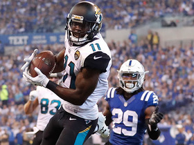 Off to the races! Marqise Lee picks up 45 yards on catch across the middle