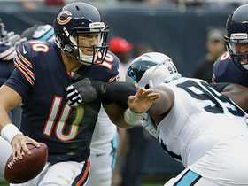 Kawann Short wraps up Mitchell Trubisky for a sack
