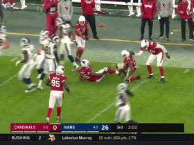 Bucannon grabs second INT of career, takes off for monster return
