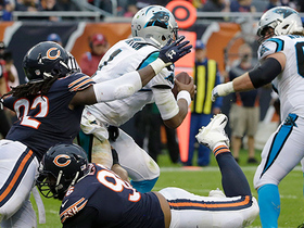 Pernell McPhee curls around lineman, drags Cam Newton down