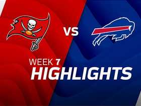 Buccaneers vs. Bills highlights | Week 7