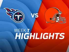 Titans vs. Browns highlights | Week 7
