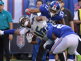 Dominant D! Giants hold Seahawks scoreless on goal line for 10 straight plays