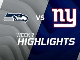 Seahawks vs. Giants highlights | Week 7