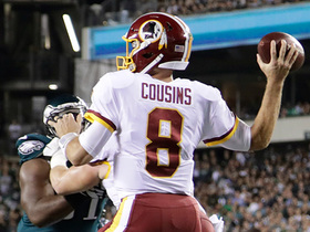 Kirk Cousins fires deep to Niles Paul for 32 yards