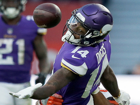 Case Keenum finds Stefon Diggs for first down