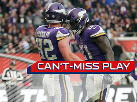 Can't-Miss Play: Kyle Rudolph wows London crowd with toe-tap TD
