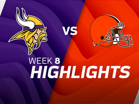 Vikings vs. Browns highlights | Week 8