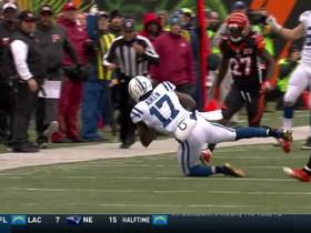 Kamar Aiken makes the sideline grab to put the Colts in scoring range