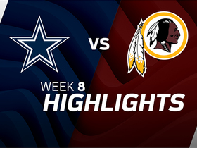 Cowboys vs. Redskins highlights | Week 8