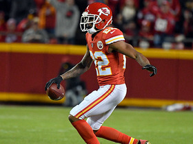 Siemian targets Marcus Peters for first time, gets picked off
