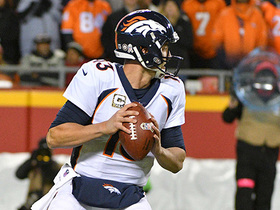Trevor Siemian throws pass across body, gets picked off for third time