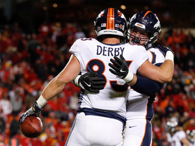 Trevor Siemian locks in on A.J. Derby for Broncos TD