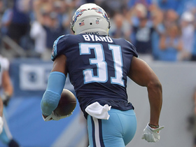 Kevin Byard snags interception after Logan Ryan deflects pass attempt