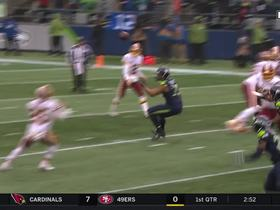 Bobby Wagner reads play, stuffs Chris Thompson for loss