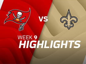 Buccaneers vs. Saints highlights | Week 9