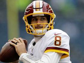 Patience pays off for Cousins on 23-yard pass play