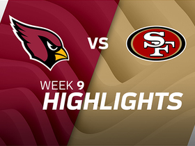 Cardinals vs. 49ers highlights | Week 9