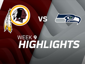 Redskins vs. Seahawks highlights | Week 9