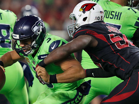 Every Cardinals sack vs. Seahawks | Week 10