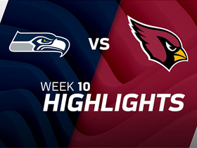 Seahawks vs. Cardinals highlights | Week 10