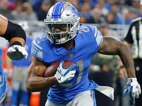 Ameer Abdullah breaks free for 20-yard run
