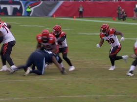 Derrick Morgan recovers another fumble on Dalton's bobbled snap