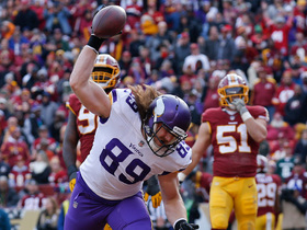 Vikings fool Redskins defense on 1-yard TD to Morgan