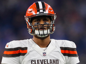 Frustration sets in as Browns fail to score at end of 1st half