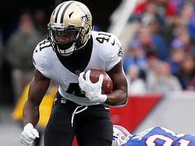 Alvin Kamara is too slippery for the Bills to tackle