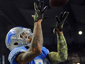 Darius Slay seals the win, intercepting DeShone Kizer in the end zone