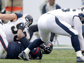 Aaron Donald ambushes Tom Savage for strip-sack, Rams recover