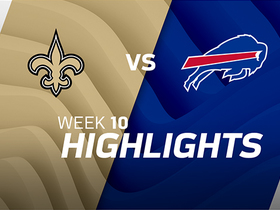 Saints vs. Bills highlights | Week 10