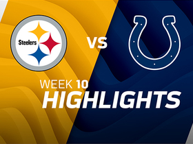Steelers vs. Colts highlights | Week 10