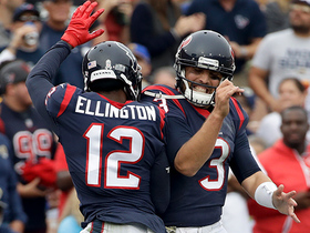 Tom Savage connects with wide-open Bruce Ellington for a 26-yard touchdown