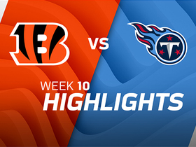 Bengals vs. Titans highlights | Week 10