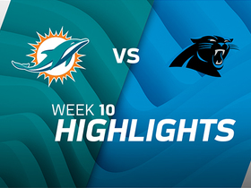 Dolphins vs. Panthers highlights | Week 10