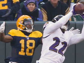 Jimmy Smith stops Packers' opening drive with end-zone INT
