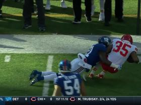 Landon Collins absolutely stuffs Charcandrick West to force 4th down