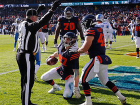 Trubisky hits diving Adam Shaheen for TD